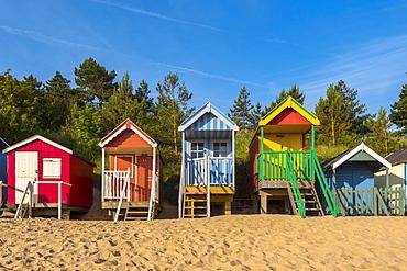 Wells-next-the-Sea Beach, North Norfolk, Norfolk, England, United Kingdom, Europe