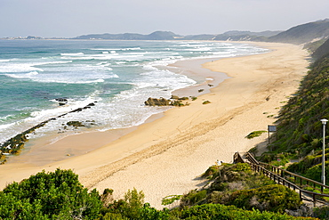 The beach at Brenton-on-Sea, just south of Knysna on Garden Route, Western Cape, South Africa, Africa