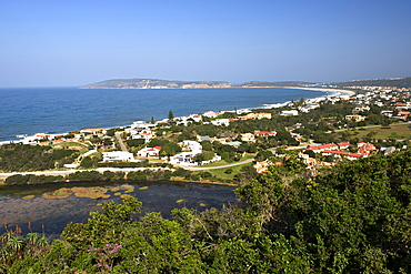Plettenberg Bay and Robberg beach on the Garden Route, Western Cape, South Africa, Africa