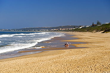 Robberg beach in Plettenberg Bay on the Garden Route, Western Cape, South Africa, Africa