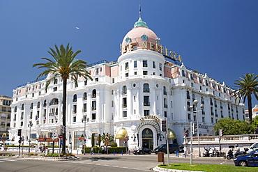 Le Negresco Hotel, Nice, Provence, Cote d'Azur, French Riviera, France, Mediterranean, Europe