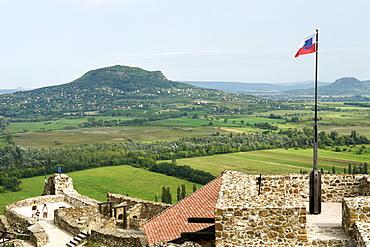 Szigliget fort near Lake Balaton, Hungary, Europe