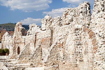 Ruins of Tasli Han in Sarajevo, capital of Bosnia and Herzegovina, Europe