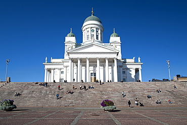 Lutheran cathedral in Helsinki, Finland, Scandinavia, Europe