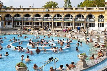 Szechenyi Baths, Budapest, Hungary, Europe