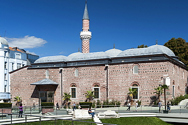 The Dzhumaya Mosque in Plovdiv, the second largest city in Bulgaria, Europe