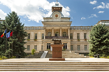 Natural History Museum in Chisinau, the capital of Moldova, Europe
