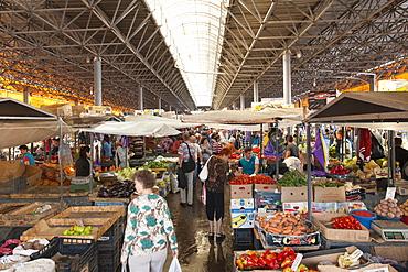 The market in Chisinau, the capital of Moldova, Europe
