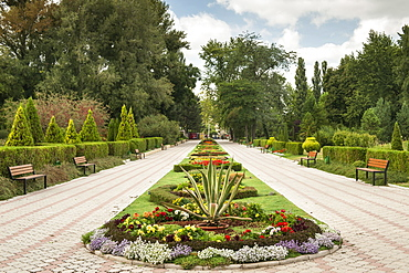 The Dendrological Gardens (Parcul Dendrologic) in Chisinau, the capital of Moldova, Europe