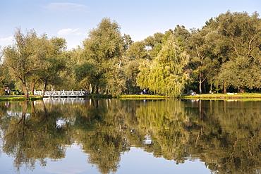 Botanical Gardens of Chisinau, the capital of Moldova, Europe