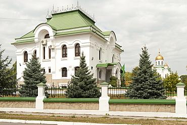 The Russian Orthodox Church of Nativity in Tiraspol, Transnistria, Moldova, Europe