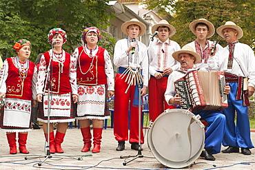 Independence Day festivities in Tiraspol, Transnistria, Moldova, Europe