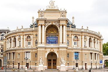 The Odessa Opera house and ballet theater in Odessa, Ukraine, Europe