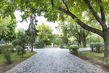 Nicolae Iorga Park in Bucharest, Romania, Europe