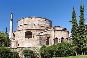 The Rotunda (Church of Agios Georgios) (Rotunda of St. George), a 4th century monument in Thessaloniki, Greece, Europe