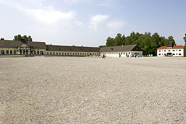 Dachau Concentration Camp on the outskirts of Munich, Bavaria, Germany, Europe