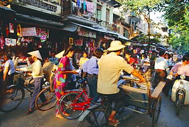 The Old Quarter, Hanoi, Vietnam, Asia