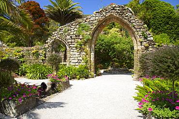 Abbey Gardens, Isle of Tresco, Isles of Scilly, United Kingdom, Europe