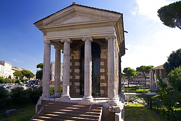 Temple of Portunus, Forum Boarium, 1st century BC, Rome, Lazio, Italy, Europe