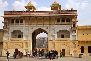 Elephant Gate, Amber Fort, Jaipur, Rajasthan, India, Asia