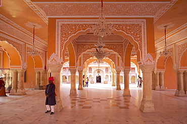 Hall of Public Audience (Diwan-e-Khas), City Palace, Jaipur, Rajasthan, India, Asia