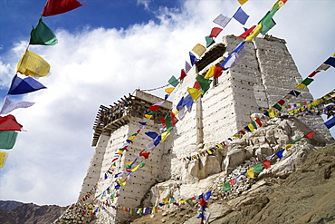 Namgyal Tsemo Gompa, Leh, Ladakh, India, Asia