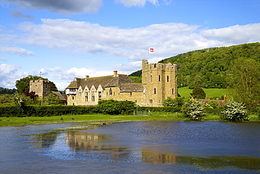 Stokesay Castle, Craven Arms, Shropshire, England, United Kingdom, Europe