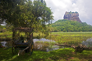 Lion Rock Fortress, UNESCO World Heritage Site, Sigiriya, Sri Lanka, Asia