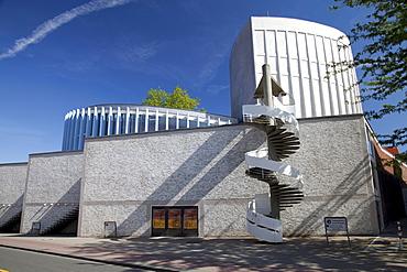 Stadttheater, city theatre, Muenster, Muensterland, North Rhine-Westfalia, Germany, Europa