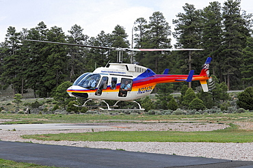 Papillon Grand Canyon Helicopters, sightseeing flights, Grand Canyon, Arizona, USA, North America