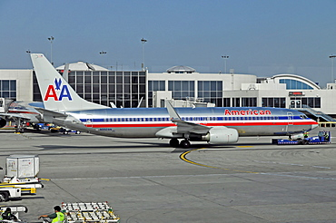 Aircraft, Los Angeles International Airport, California, USA, North America
