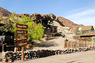 Calico Ghost Town, Yermo, California, USA, North America