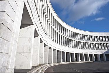 Palazzo dell'INA, Istituto Nazionale delle Assicurazioni, designed by Giovanni Muzio, Mario Paniconi and Giulio Pediconi, Piazzale delle Nazioni Unite, EUR district, Rome, Latium, Italy, Europe