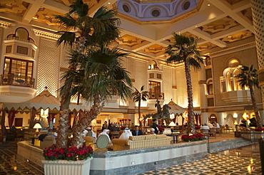 Interior hall, Grand Hyatt Muscat, Capital Area, Oman, Middle East