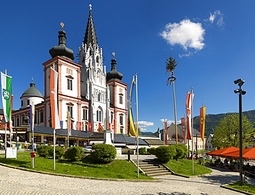 Church of pilgrimage Magna Mater Austriae in Mariazell, Styria, Austria, Europe