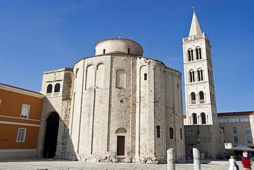Donat Church, Zadar, Zadar County, Croatia, Europe