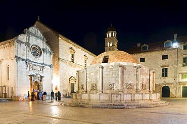 Large Onofrio Fountain, Dubrovnik, Dubrovnik County, Croatia, Europe
