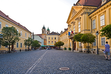 Episcopal Palace, Puespoeki palota, Szekesfehervar, Hungary, Europe