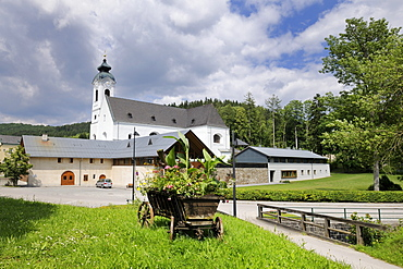 Klein Mariazell pilgrimage church, Triestingtal valley, Lower Austria, Europe
