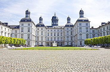 Grandhotel Schloss Bensberg castle, Bensberg, Bergisch Gladbach, Bergisches Land region, North Rhine-Westphalia, Germany, Europe