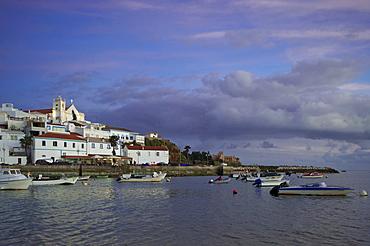 Cityscape, Ferragudo, Algarve, Portugal, Europe