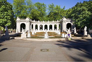 Maerchenbrunnen fairytale fountain†in Volkspark†Friedrichshain, Berlin, Germany, Europe