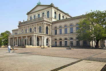 Opera House, Hannover, Lower Saxony, Germany, Europe