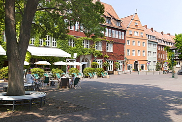 Historic centre, Ballhof, Hannover, Lower Saxony, Germany, Europe