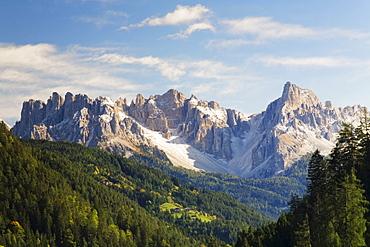 Latemar massif, Dolomites, Trentino-Alto Adige, Italy, Europe