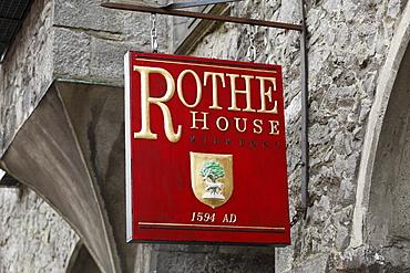 Rothe House, Kilkenny, County Kilkenny, Ireland, British Isles, Europe