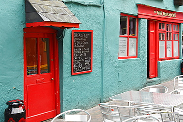 Milk Market Cafe, Kinsale, County Cork, Republic of Ireland, British Isles, Europe