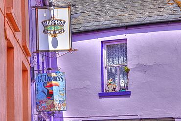 Causkeys Pub, Eyeries, Beara Peninsula, County Cork, Ireland, British Isles, Europe