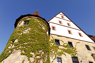 Schloss Wiesenthau castle, Franconian Switzerland, Franconian Alb, Upper Franconia, Franconia, Bavaria, Germany, Europe