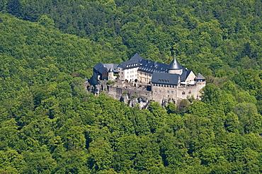 Schloss Waldeck Castle, Edersee lake, Kellerwald National Park, North Hesse, Germany, Europe